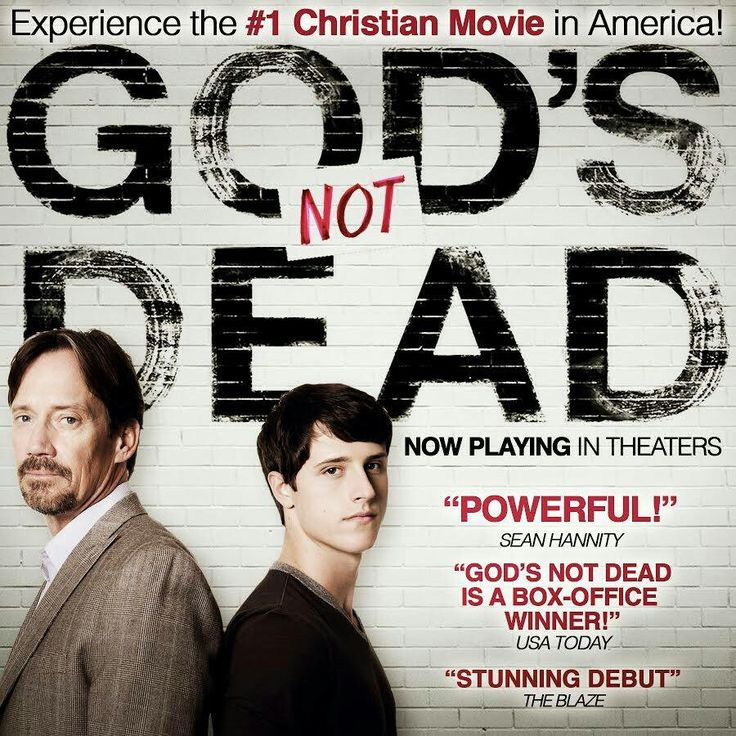 God's not dead, a students quest to prove to his atheistic professor that God is real.