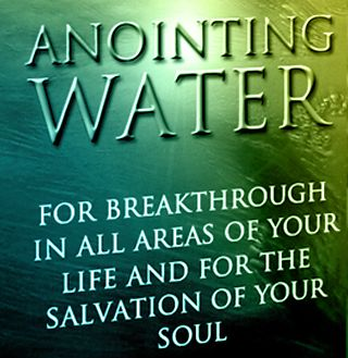 tb joshua new anointing sticker and water - Google Search