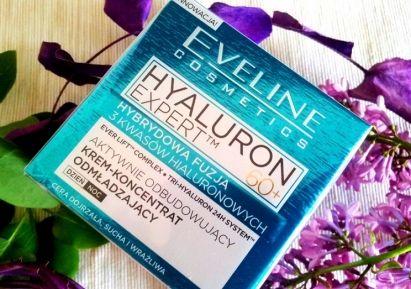 Eveline Hyaluron Expert krem-koncentrat odmładzający 60+