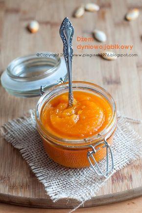 Dżem dyniowo-jabłkowy z nutą pomarańczy