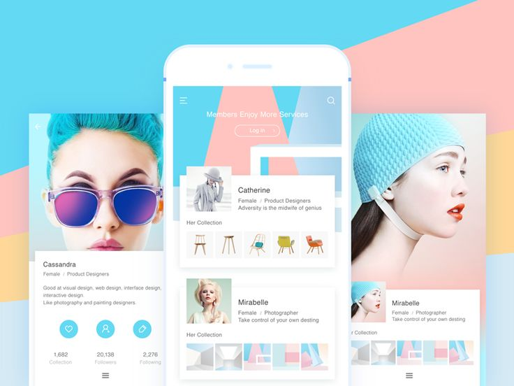 Flatun is your helper to track the latest designer trends, inspire the best designer shots and share your experience.