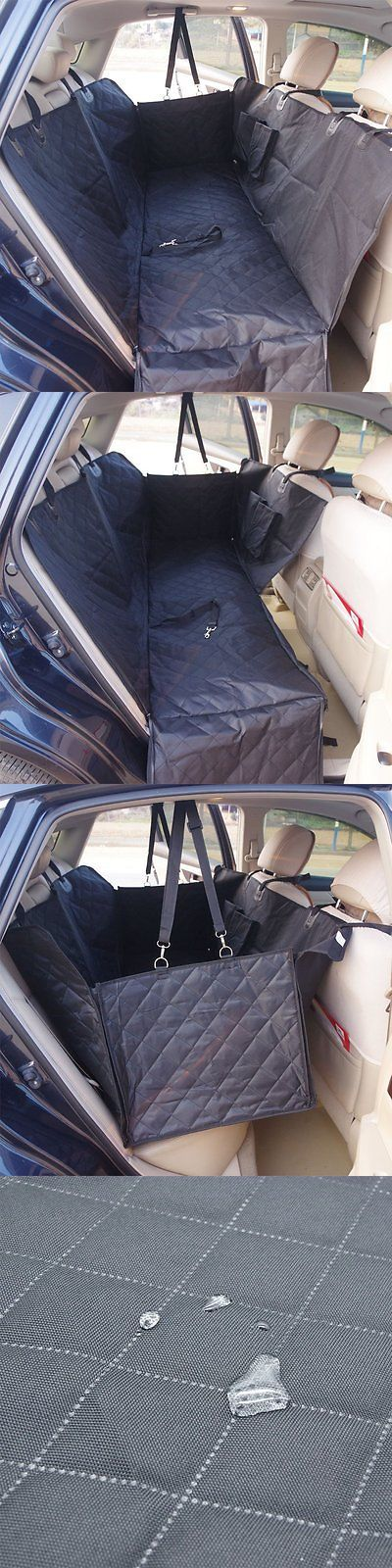 Car Seat Covers 117426: Waterproof Dog Car Seat Cover Backseat Large Pet Seat Cover Hammock Mat For Suvs -> BUY IT NOW ONLY: $45.14 on eBay!