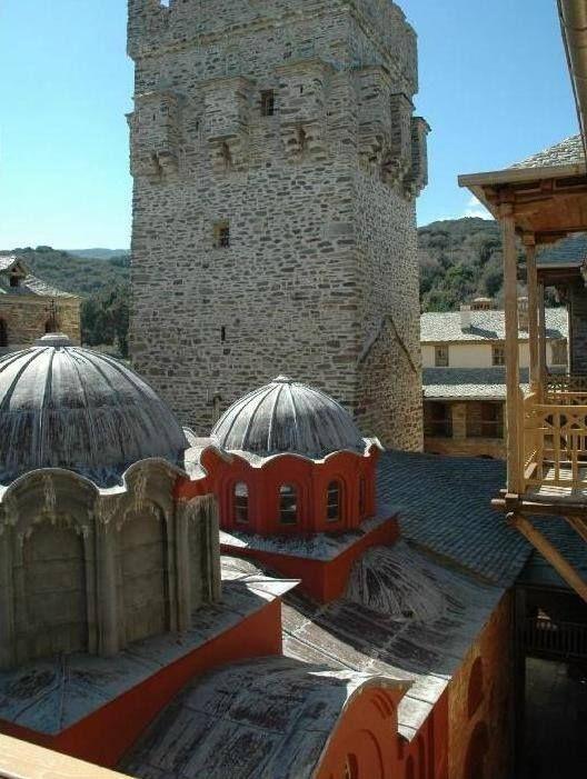 Καθολικό Ιεράς Μονής Σταυρονικήτα, Άγιο Όρος - The katholikon of the Holy Monastery of Stavronikita, Mount Athos