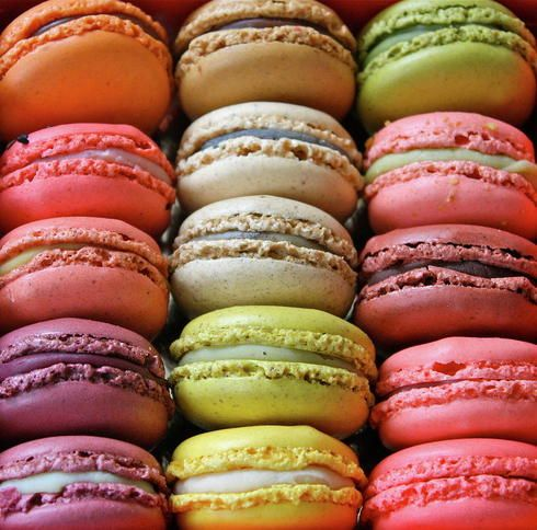 12 pack of our delicious french inspired Macrons (2 of each of our most popular flavors Vanilla, Chocolate, Caramel, Raspberry, Lemon and Pistachio)