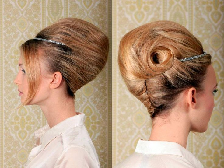 25 best french twist hair ideas on pinterest french roll hair french roll updo and messy. Black Bedroom Furniture Sets. Home Design Ideas