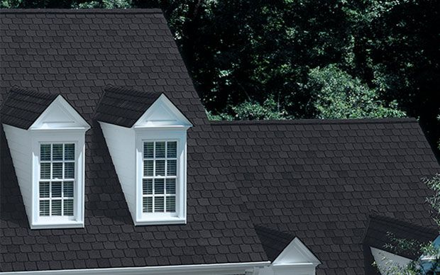 Owens Corning Berkshire Canterbury Black Shingling