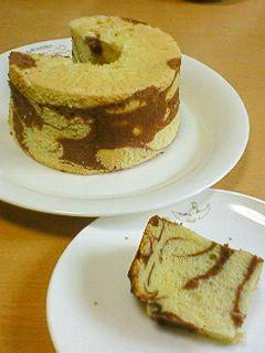 マーブルシフォンケーキ~ココアシフォン~ by ちーはー [クックパッド] 簡単おいしいみんなのレシピが221万品