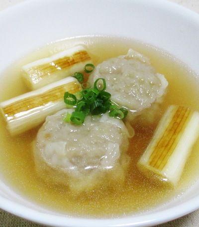 焼売(シューマイ)と焼きねぎの中華スープ by syu♪さん | レシピ ...