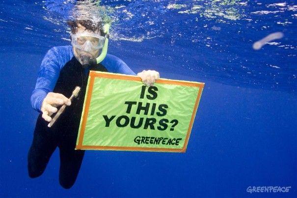 Greenpeace: Plastic, Bij Greenpeace, Trash, Ocean, Earth, Photo, Green Peace