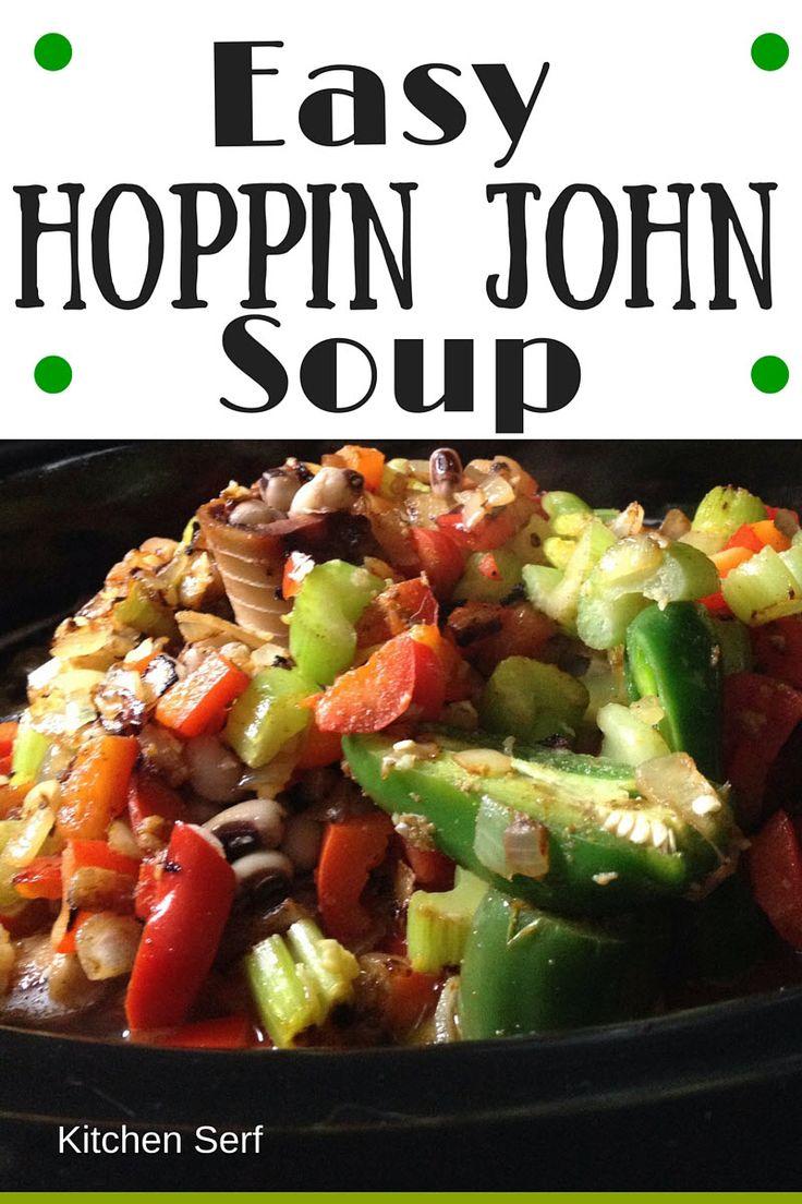 Easy Hoppin John Soup