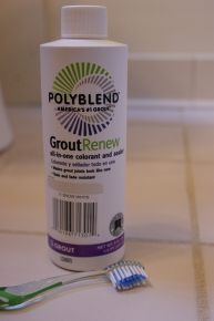 removing dried on grout and refreshing grout lines, cleaning tips, home maintenance repairs, tiling, Grout Renew is a grout paint and sealer in one that can make your grout lines look like new