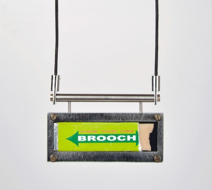Sigurd Bronger Pendant: Carrying device for a Ted Noten piece, 2014