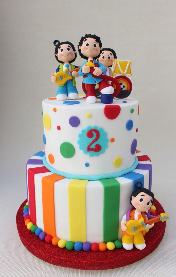 Topa y los Rulos Cake  Violeta Glace