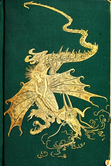 For the love of Books...The Green Fairy Book, edited by Andrew Lang with numerous illustrations by H.J. Ford, 1906.