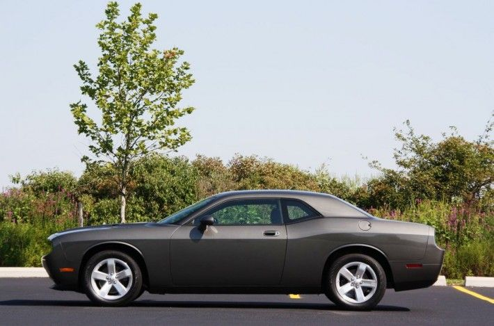 Dark Gray Dodge Challenger