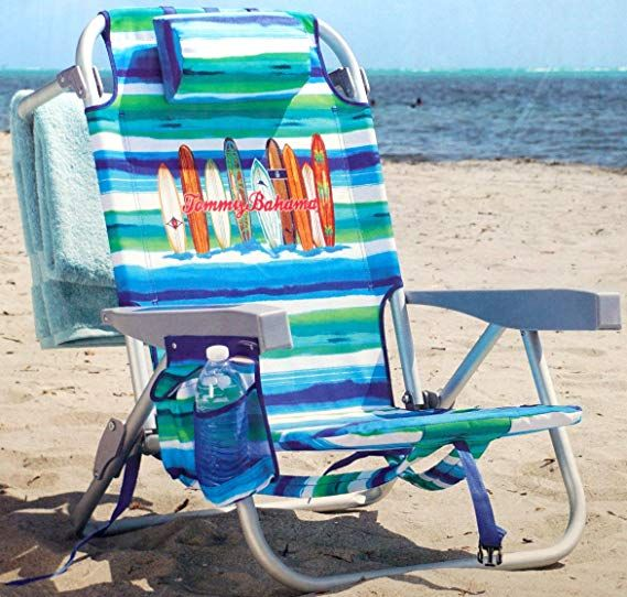 Amazon Com Tommy Bahama Backpack Chair Insulated Cooler Pouch