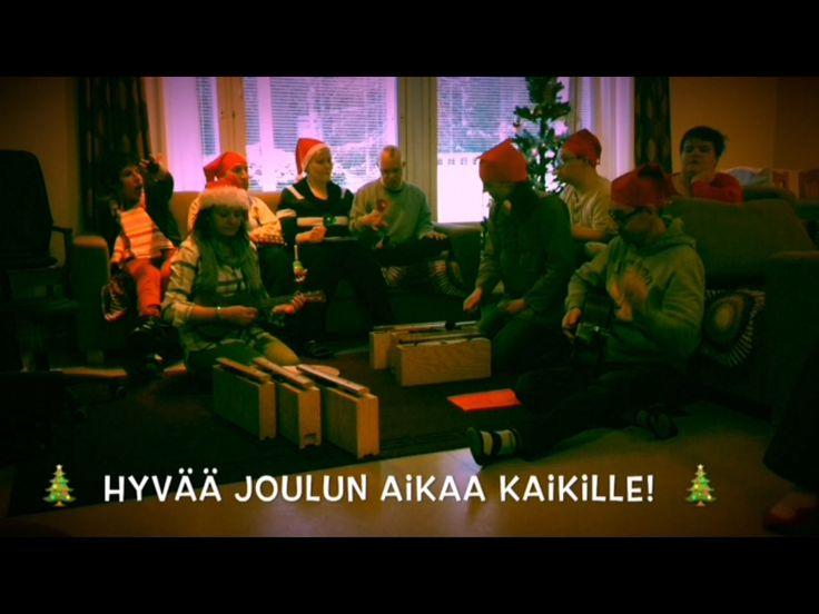 Joulutervehdysvideo löytyy www.facebook.com/pahkinapolku