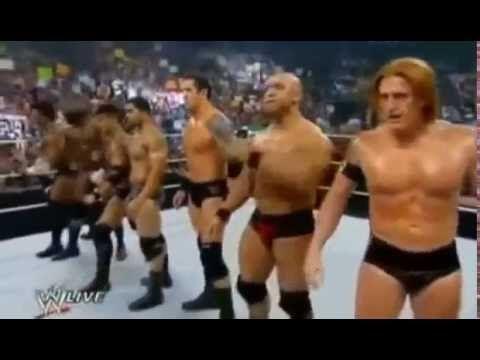 Wwe John Cena return and hit The Nexus one REALING ¦ WWE RAW