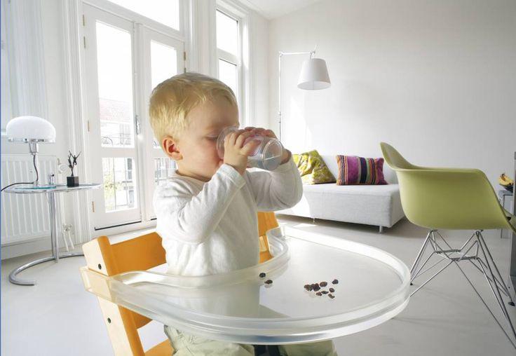 Playtray transparant tafelblad voor Stokke Tripp Trapp stoel