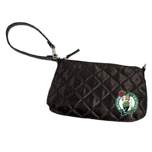 Boston Celtics Quilted Wristlet, Black by Little Earth. Save 9 Off!. $18.14. This officially licensed NBA Quilted Wristlet, manufactured by Pro-FAN-ity by Littlearth, is the perfect purse for the fashion-forward sports-fan. These purses combine details like rich satin quilting and faux leather trim and an embroidered team logo.