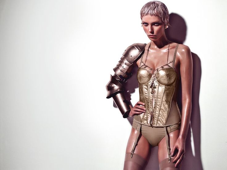 Marlies Dekkers Launches Joan of Arc Influenced Couture Line of Lingerie | via Fashion Gone Rogue