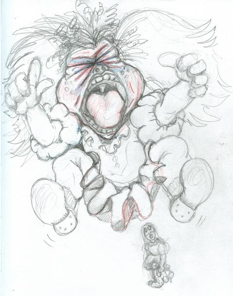 another sketch idea of Sleepy Princess