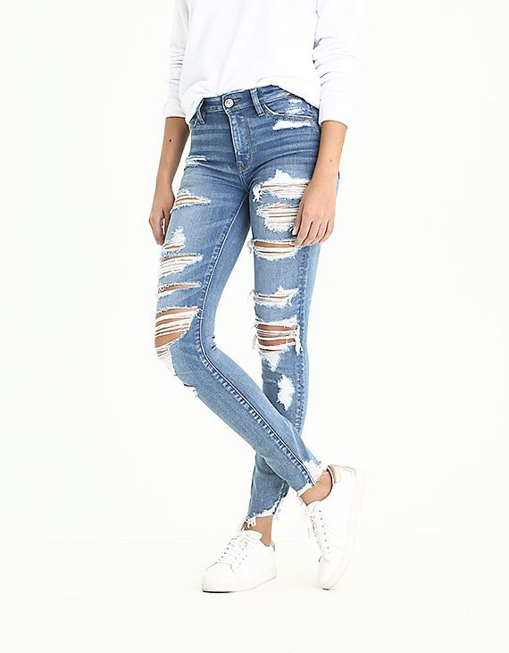 bffa9bed AE Ne(X)t Level High-Waisted Jegging   Clothes I want   Jeans ...