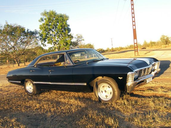 1967 Chevrolet Impala. I love this car.