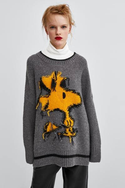 0bc0e23c Image 2 of JACQUARD WOODSTOCK® SWEATER from Zara | My style in 2019 ...