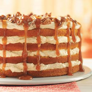Pumpkin Torte-                                                     Serve one of our favorite pumpkin recipes at your next holiday gathering. From pumpkin pie to pumpkin cake to pumpkin cookies, you're sure to find a pumpkin dessert to please everyone!