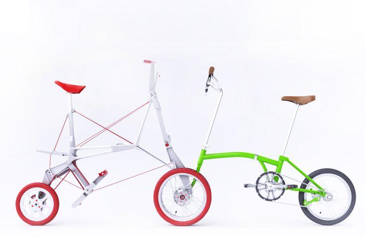"""O projecto Bike Intermodal desenvolveu um protótipo de bicicleta dobrável que está agora """"viável para comercialização"""". Preços devem variar entre os 500 e os 1300 euros"""