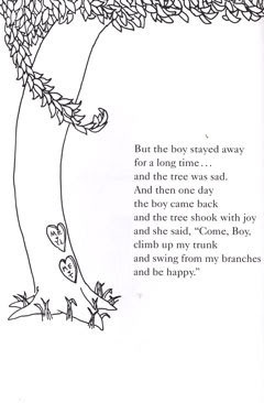 First and only book I remember from my childhood.The Giving Tree