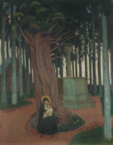 Vierge de Saint-Gonery par Maurice Denis