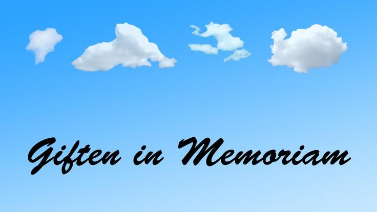 Giften in Memoriam van uw dierbare. http://alsliga.be/index.php?id=1956