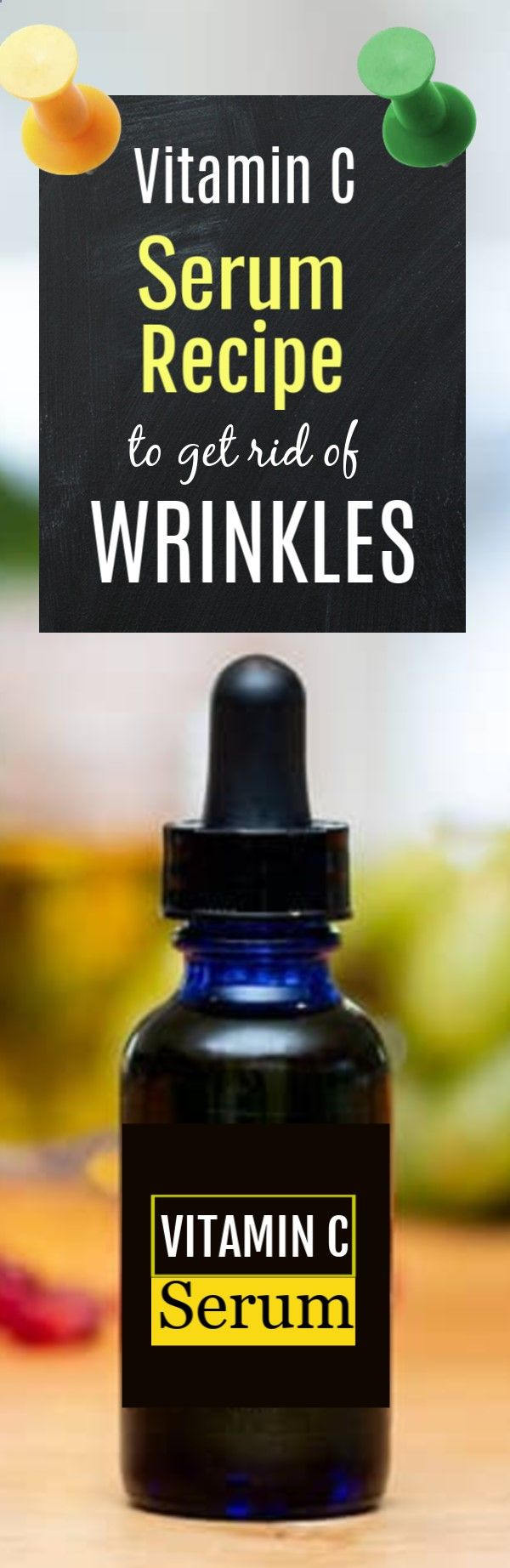 DIY Vitamin C Serum Recipe For Wrinkles And Age Spots