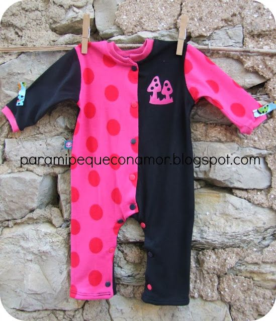 Para+mi+peque+con+amor:+Pijamas+para+bebé+recién+nacido+(referencia+a+patr...