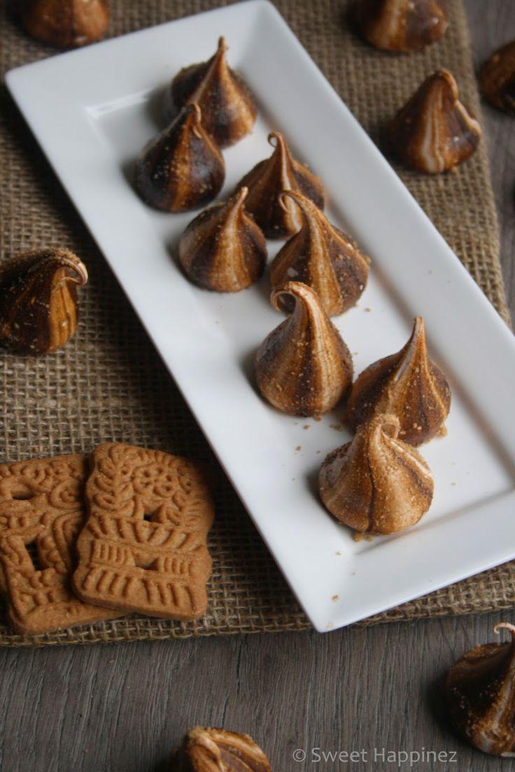 Sweet Happinez: Recept | Speculaas Meringues