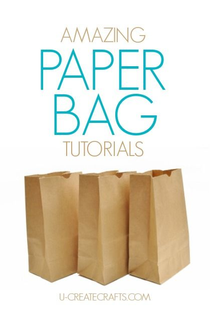 Stuff you can do with brown paper bags.