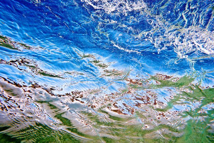 Abstract underwater Straddie LANDSCAPE - Stradbroke Island Photography