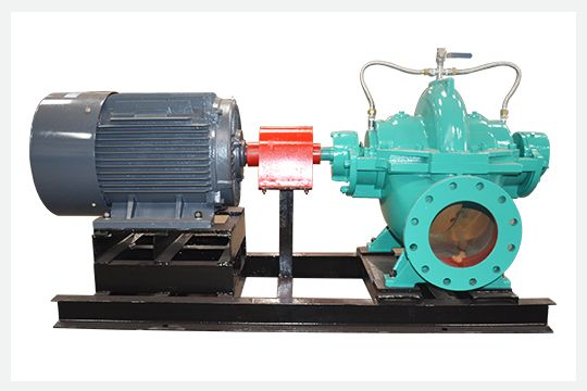 S/SH series single stage double suction split-case centrifugal pump can be used for pumping clear water or other liquids with similar physical and chemical properties as water.