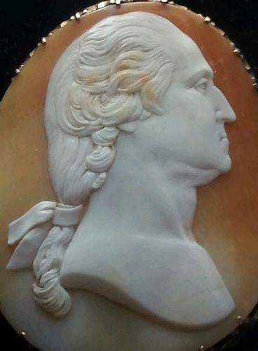Details about Museum Quality George Washington Cameo 10K