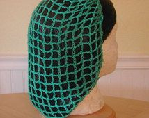 Crochet Snood or Hairnet Pattern from 1942