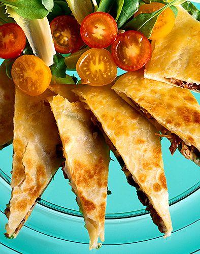 Quesadillas, mozzarella och champinjoner | Recept från Köket.se