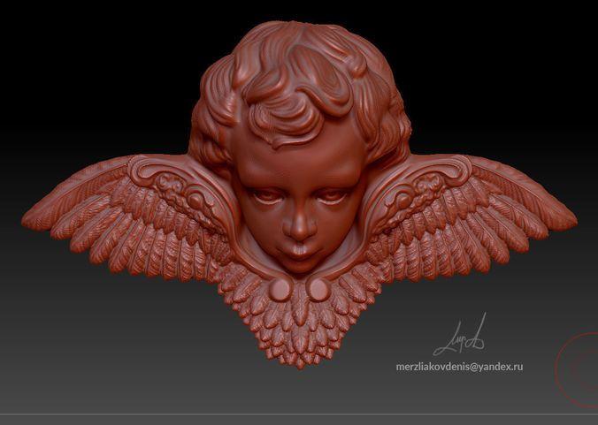 angel | 3D Print Model