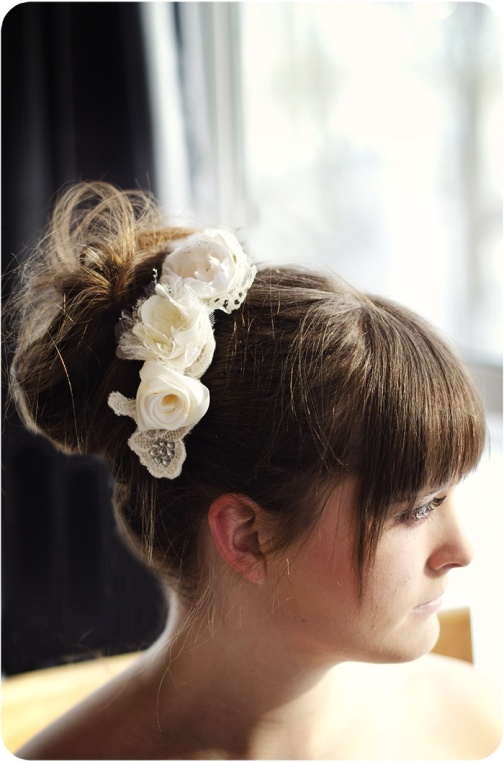 Bridal Hair Comb by Handcrafted Whimsy, Hair Accessories