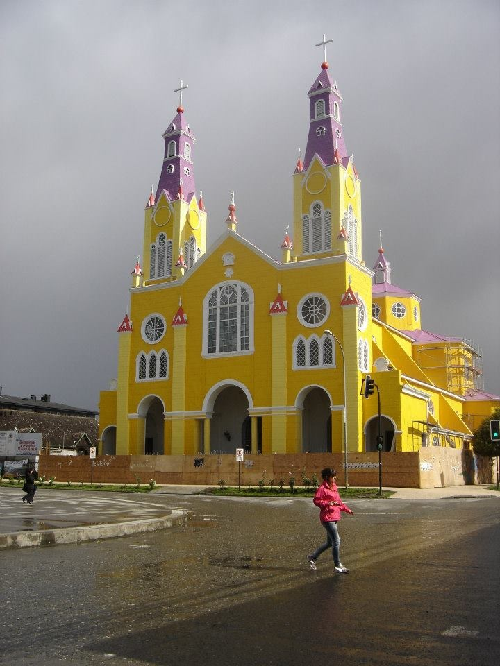 Iglesia de Castro, Chiloé.