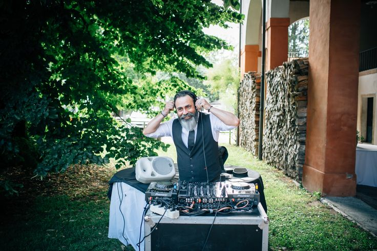 The dj!  #party #anniversary #40years #ditreitalia