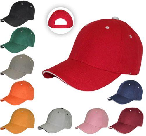 Gorras bordadas o impresas como quieras