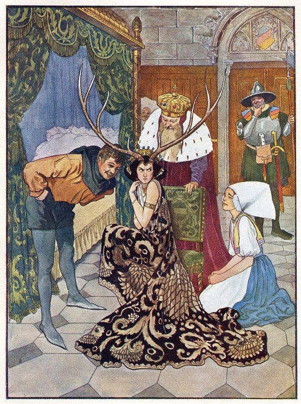 Exquisite Bohemian Fairy Tale Illustrations by Artuš Scheiner