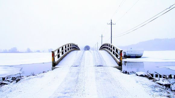 White morning & bridge  #Salo #Suomi #Finland